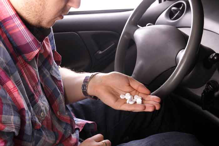 Drug driving, under the influence of counter drugs